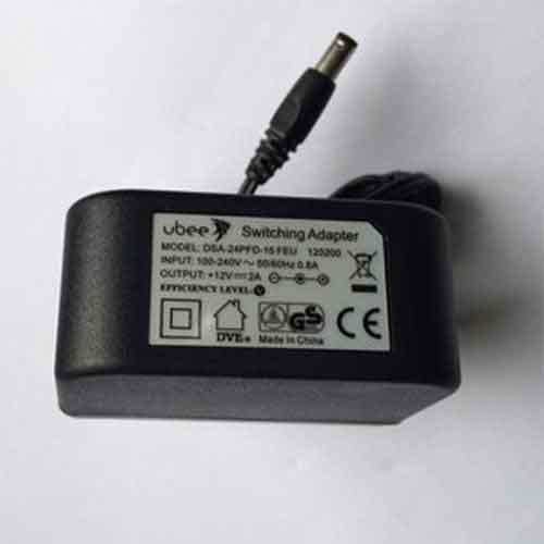 Ubee Adapter 12V, 2A