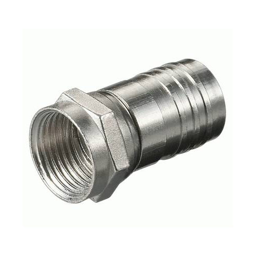F krimp connector voor 5,6 tot 7 mm coax