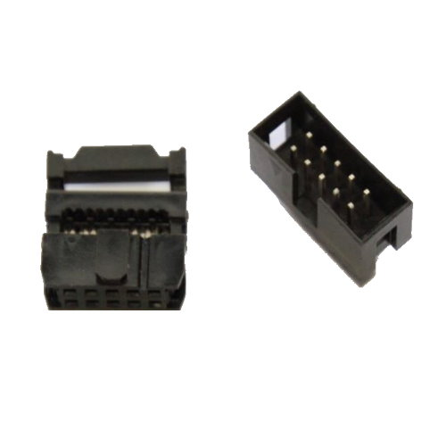 IDC connector voor flat cable 10 pins
