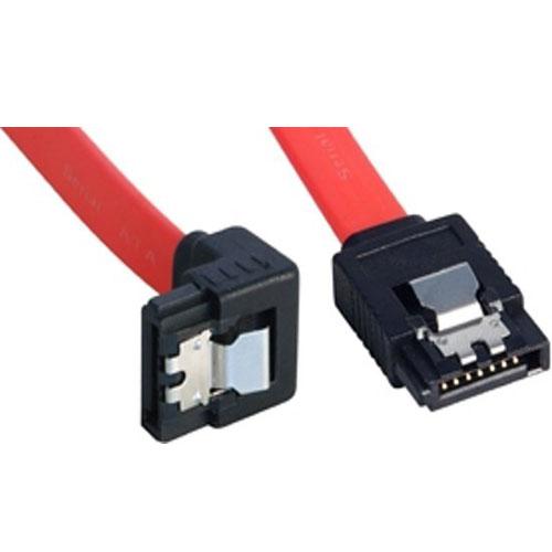 Lindy 0.22m SATA Cable SATA-kabel 0,22 m Rood