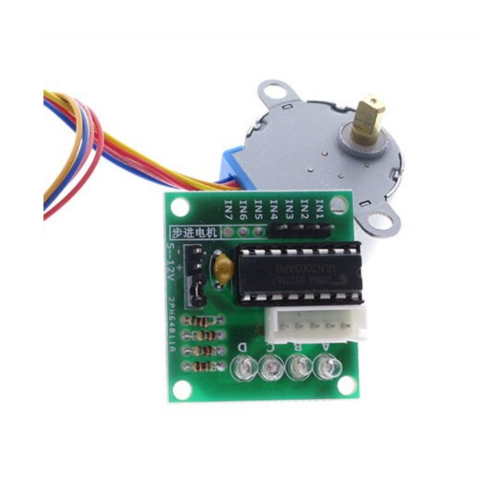 5 v 4-Fase Stappenmotor Stappenmotor + Driver Board ULN2003 met drive Test module