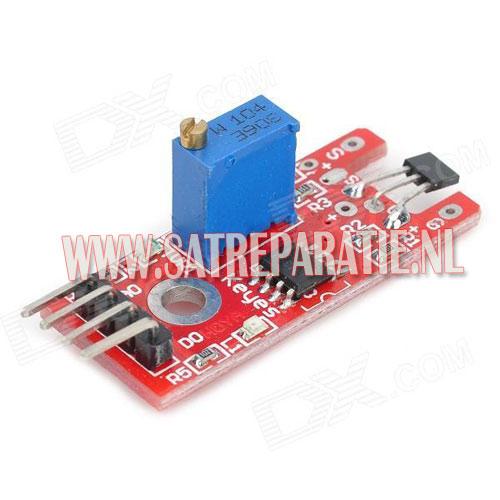 Arduino linear hall sensor