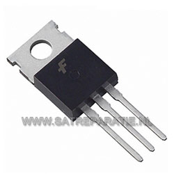 IRFBE30 N-channel MOSFET, 4.1 A, 800 V, 5 stuks
