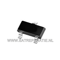 MMBTA42, Bipolar (BJT) Single Transistor, NPN, 300 V, 100 mA, 250 mW, SOT-23, Surface Mount