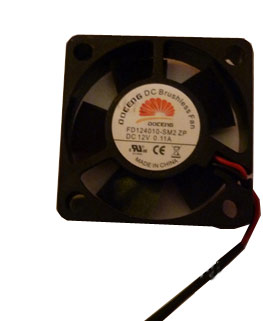 FDF124010 Axial Fan, Compact Series, 12 V, DC, 40 mm, 10 mm