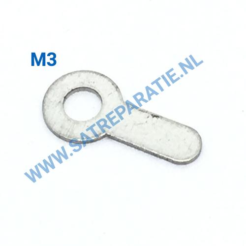 M3 ringen voor solderen, zakje van 10 stuks