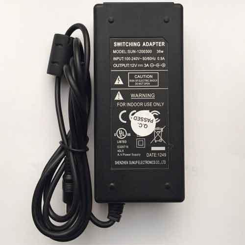 Adapter NE PA123, 12V 3A