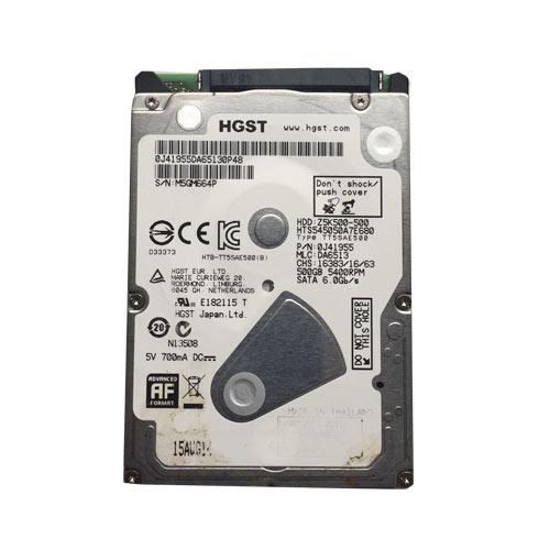 Gebruikte HGST 500GB 2.5 inch SATA