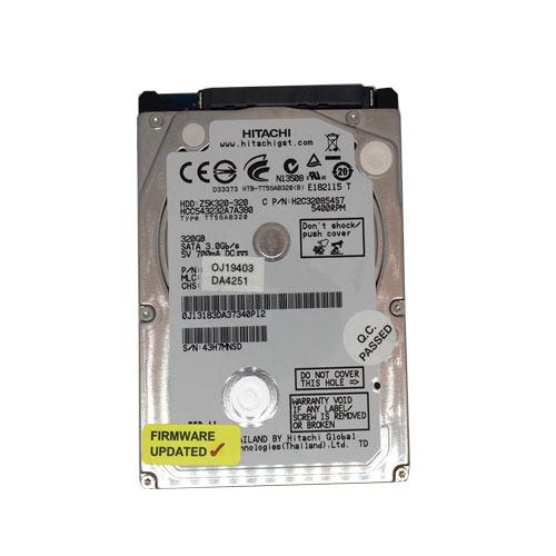 Gebruikte Hitachi 500GB 2.5 inch SATA