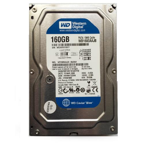 Gebruikte WD 160GB 3.5 inch SATA