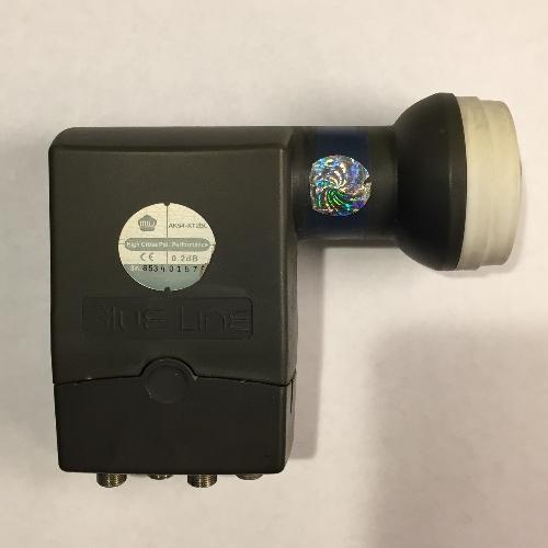 Gebruikte MTI Blue line Quad LNB 40mm