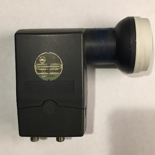 Gebruikte MTI Blue line Twin LNB 40mm