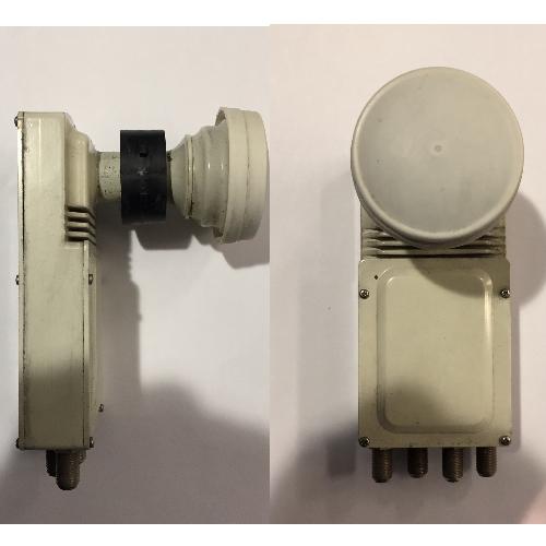 Gebruikte MTI Quad LNB 23mm
