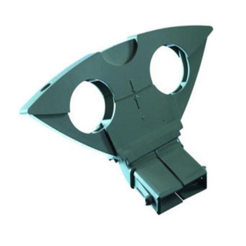 Gebruikte Triax DUO 6 graden houder Astra 1 en Hotbird kleur grijs