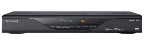 Homecast HS 8100 CI CD PVR reparatie