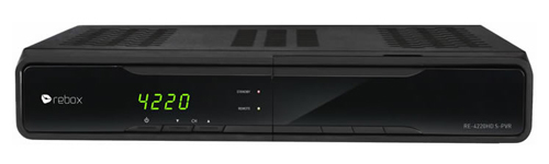 Rebox RE-4220HD S-PVR reparatie